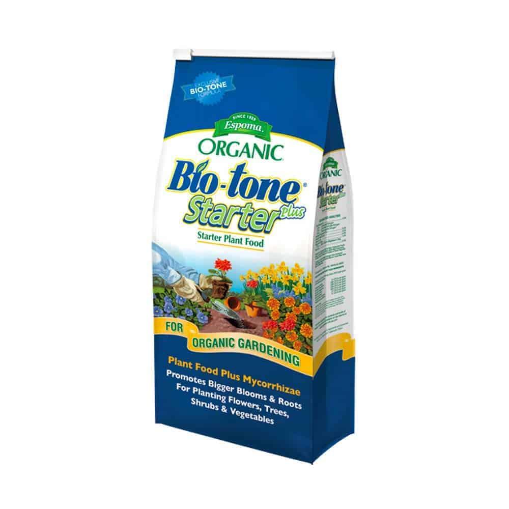 4lb bag of espoma bio tone starter plus organic fertilizer